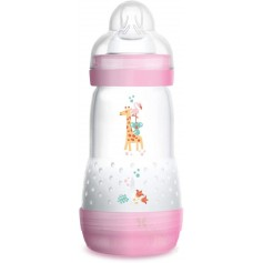 BIBERON ANTICOLICO MAM EASY START 260 ML ROSA +2M