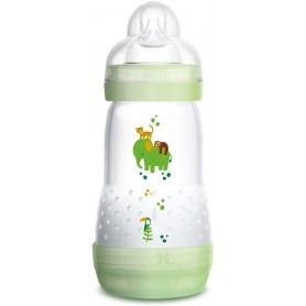 BIBERON ANTICOLICO MAM EASY START 260 ML VERDE