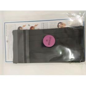 Mascarilla Higienica Adulto Reutilizable Equivalencia Ffp2 Negro Liso Talla M
