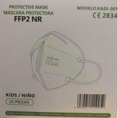 MASCARILLAS FFP2 INFANTILES PARA NIÑOS ENTRE 3—10 AÑOS MAXIMA PROTECCION