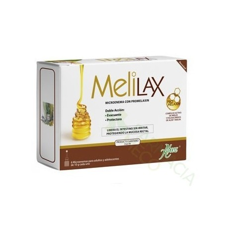 MELILAX ADULTO MICROENEMAS 10 G 6 UNIDADES
