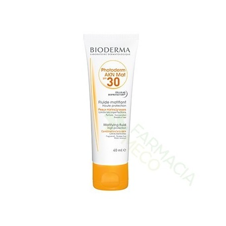PHOTODERM AKN SPF 40 MAT FLUIDO BIODERMA 40 ML