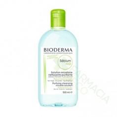 SEBIUM H2O BIODERMA 500 CC